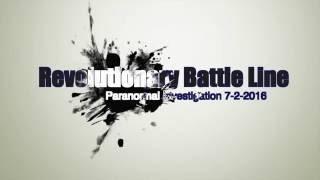 Battle Line in Prospect Park Paranormal Investigation 7-2-2016
