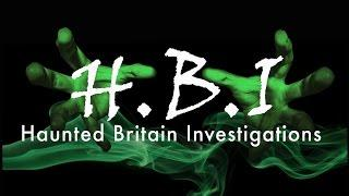 HBI HAUNTED BRITAIN INVESTIGATIONS - HARTSHILL CANAL YARD PARANORMAL INVESTIGATION