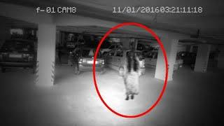 Real Evidence of Ghosts !! Ghost Attack Caught on Cctv Camera From Parking Area