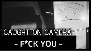 F@#K YOU | GHOST SWEARS ON CAMERA | PARANORMAL EVIDENCE SHORT