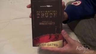 Destination Truth - Memoirs of a Monster Hunter Book Unboxing