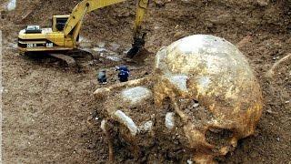 SHOCKING Giant Human Skeletons found