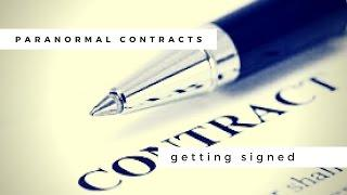 Paranormal Production Contracts: Getting Signed
