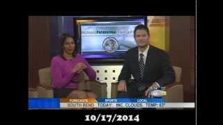 10/17/2014 Michiana Paranormal on Fox 28 Morning Show