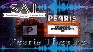 Pearis Theatre Investigation: Full DVD
