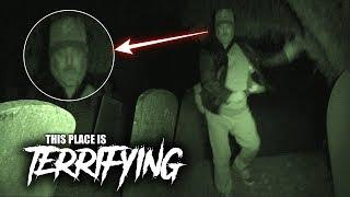 (DAVE RAN IN FEAR) HAUNTED GRAVEYARD AFTER DARK!