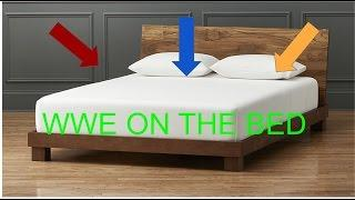 WWE Moves On The Bed 3