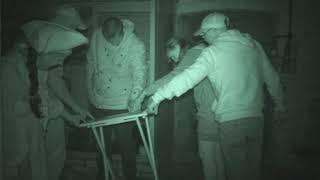 Redoubt Fort ghost hunt - 18th August 2018 - Exceptional table tilting