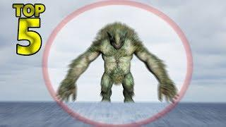 5 TIMES ALIVE GIANTS CREATURES CAUGHT ON CAMERA & SPOTTED IN REAL LIFE! 1