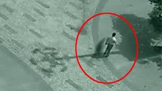 Unidentified Flying Creatures Caught on CCTV!! Ghost Videos 2018