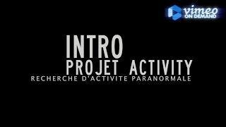 Intro Projet Activity, Chasseur de Fantômes