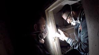 HAUNTED ABANDONED HOUSE EXPLORATION attacked by pigeons