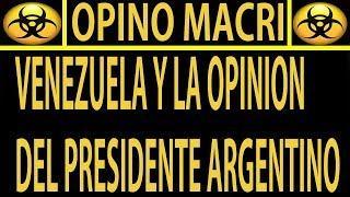 NOTICIAS DE HOY 14 DE AGOSTO / VENEZUELA MACRI Y ARGENTINA