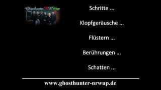 Ghosthunter-NRWup, Ghosthunter / Geisterjäger aus NRW