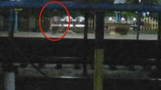 Ghost In Railway Station | Most Frightening Ghost Videos Ever Seen | Ghost Attack Scary Videos