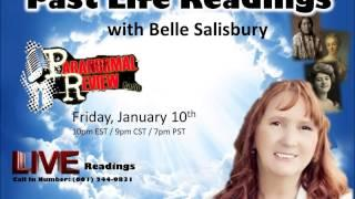Paranormal Review Radio - Psychic Month Series: Belle Salisbury - Past Life Readings