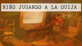 Niño Juega a la Ouija - Escenas Impactantes (Video Paranormal)