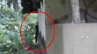 Zombie Like Creature Caught On Camera Near An Abandoned House!!