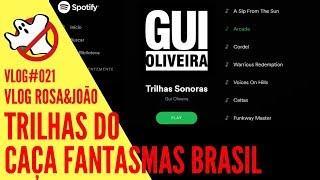Trilhas para Caçar Fantasmas VLOG#021 Rosa&João - Caça Fantasmas Brasil