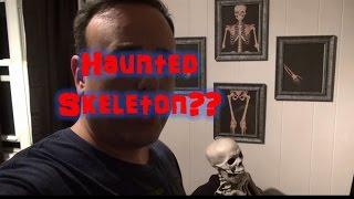 Possessed Skeleton? Head MOVED!!!!! Ghost? Spirit? Haunted?