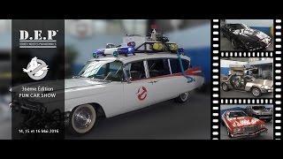 D.E.P au Fun Car Show 2016 - Découvrez l'Ecto-1