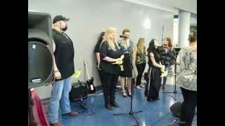ParAmeriCon First Women's Paranormal Con by Evermore Ghost Hunters sing Every Breath You Take