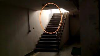 Poltergeist ghost caught on video in haunted Area  Most creepy one on internet Scary Videos