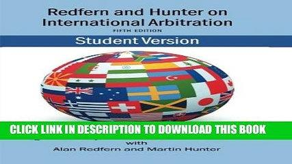 [PDF] Redfern   Hunter on International Arbitration [Online Books]
