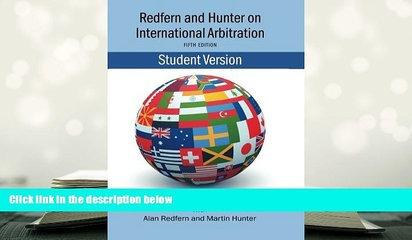 PDF [DOWNLOAD] Redfern   Hunter on International Arbitration TRIAL EBOOK