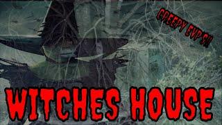 WITCHES HOUSE IN THE WOODS///SPIRIT ACTIVITY HIGH!!  (EVP'S)!!