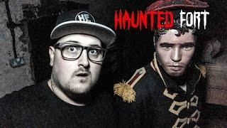 Ghost Hunting at Haunted Fort Live