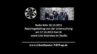 Ghosthunter-NRWup / Geisterjäger bei Radio Köln