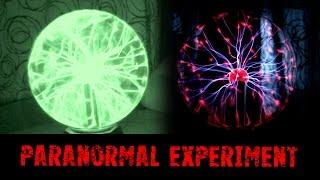 Plasma Ball Experiment Analysis - Real Paranormal Activity Part 40.1