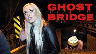 Testing Terrifying Urban Legend at HAUNTED GHOST BRIDGE!