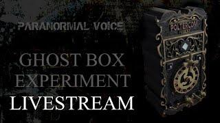 Ghost / Spirit Box Experiment | LIVE | Poltercom