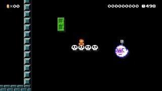 Super Mario Maker Courses - Paranormal Research (Event Course)