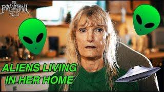"""I LIVE WITH EXTRATERRESTRIAL SPIRITS"" (Diana's Story) - Ghost Alien Ufo Hunting HD Vlog 2018"