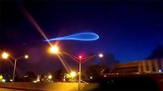 Strange Sky or UFO Over Miami - 2015 - Atlas 5 Rocket