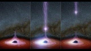 Something come out of a Black Hole for the first time ever