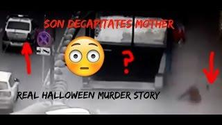 Son Decapitates Mother Then Himself (TRUE HALLOWEEN MURDER STORY)