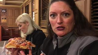 BBQ Bacon Cheeseburger Pizza at Pizza Hut in Dumfries - Paranormal Pit Stops