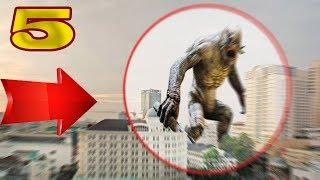 5 REAL GIANTS CREATURES Sightings  CAUGHT ON CAMERA & SPOTTED IN REAL LIFE