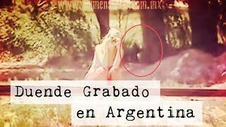 Duende Grabado en Argentina ( Video Paranormal)