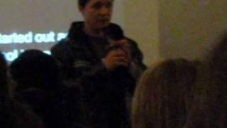 Ryan Buell of PRS Lecture - April 23, 2010 Toronto - Part 1