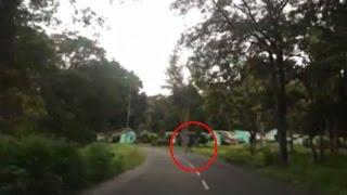 Real Ghost Videos | Ghost In Forest Caught On Camera | Haunted Road
