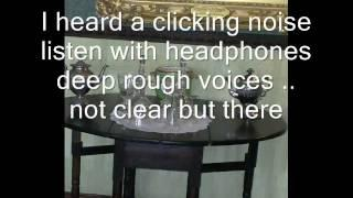 SMITHILLS HALL EVP SPIRIT VOICES AINSWORTH ROOM WORSLEY PARANORMAL GROUP