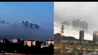 Una Vez Más Aparece Ciudad Flotante sobre nubes de China 18/1/2017 VIDEO VIRAL