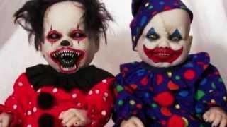 - Muñecas Diabolicas De Terror Y Miedo Reales - Scary Dolls Pictures Caught On Tape Video 2