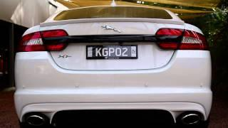 Jaguar XF Supercharged 3.0 petrol 2013 exhaust