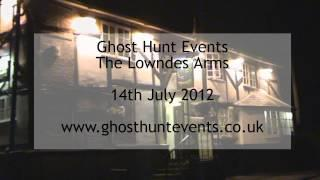 Lowndes Arms real ghost voice EVP